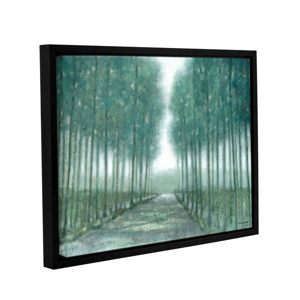 ArtWall Norman Wyatt JR's Path Of Least Resistance, Gallery Wrapped Floater-framed Canvas