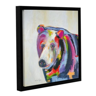 Melissa Lyons's Grizzly Bear, Gallery Wrapped Floater-framed Canvas