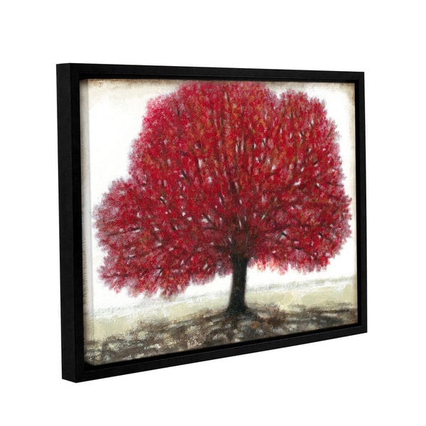 ArtWall Norman Wyatt JR's Ruby Tree, Gallery Wrapped Floater-framed Canvas 17131996