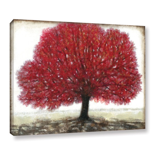 ArtWall Norman Wyatt JR's Ruby Tree, Gallery Wrapped Canvas 17132001