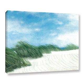 ArtWall Norman Wyatt JR's Dune Grasses, Gallery Wrapped Canvas