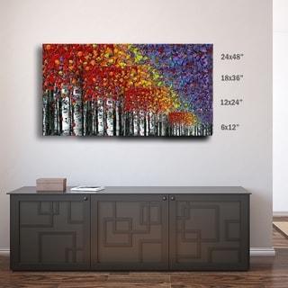 ArtWall Susanna Shaposhnikova's Birch, Gallery Wrapped Canvas