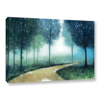 ArtWall Norman Wyatt JR's Early Morning Mist, Gallery Wrapped Canvas