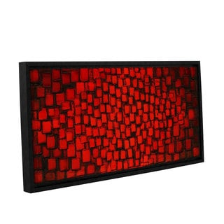 ArtWall Susanna Shaposhnikova's Candle Light , Gallery Wrapped Floater-framed Canvas
