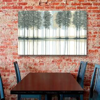 ArtWall Norman Wyatt JR's Reflection, Gallery Wrapped Canvas