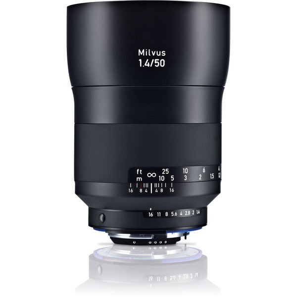 Zeiss Milvus 50mm f/1.4 ZF.2 Lens for Nikon