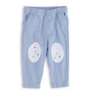 aden + anais Baby Boy's Silver Newborn Jersey Pants
