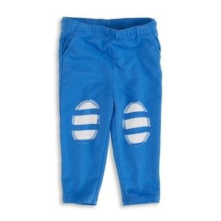 aden + anais Baby Boy's Ultramarine Newborn Jersey Pants