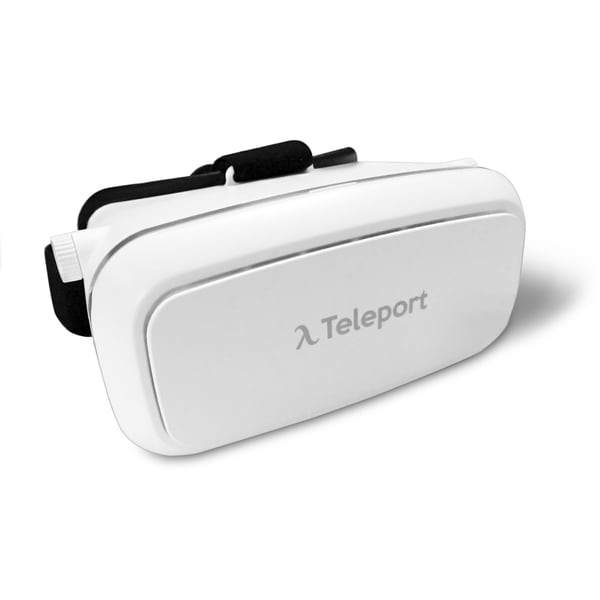 Teleport Virtual Reallity White Headset