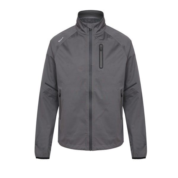 Vstone Men's Grey Soft-Shell Jacket