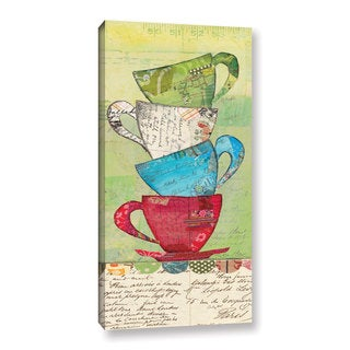 ArtWall Courtney Prahl's Come For Tea, Gallery Wrapped Canvas
