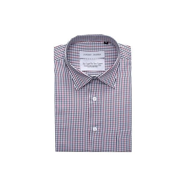 Jordan Jasper Men's Multi Color Check Dress Shirt