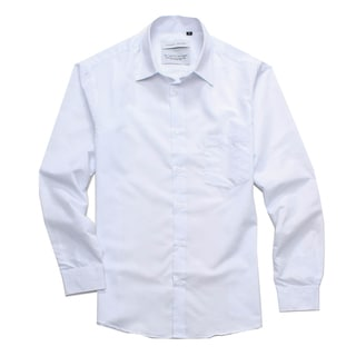 Jordan Jasper Men's Solid White Shirt