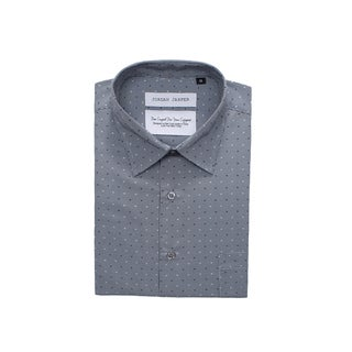 Jordan Jasper Men's Grey Flecked Shirt