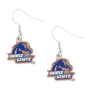 NCAA Boise State Broncos Dangle Logo Earring Set