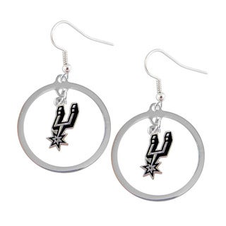 NBA San Antonio Spurs Hoop Logo Earring Set