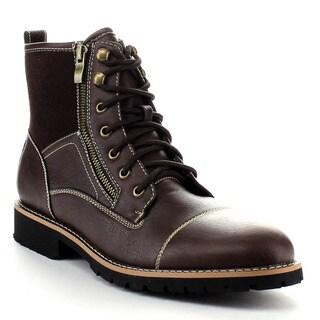 FERRO ALDO MFA-506017 Men Lace Up Work Boot