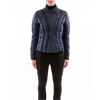Zac Zac Posen Women's Emily Blue Asymmetrical Zip Jacket