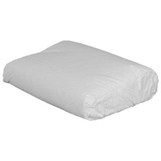 Contour Memory Foam Pillow With Fiberfill Cover