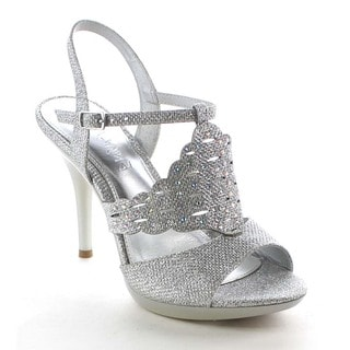 Beston BB27 Women's Cut Out Glitter Sandals