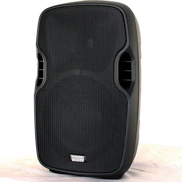 Acoustic Audio Aa10ub Powered 700 Watts 10-inch Bluetooth Speaker 2 Way Usb Mp3 Player