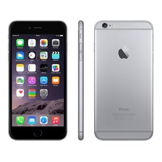 iPhone 6 Plus 128GB Unlocked GSM 4G LTE Certified Refurbished Cell Phone