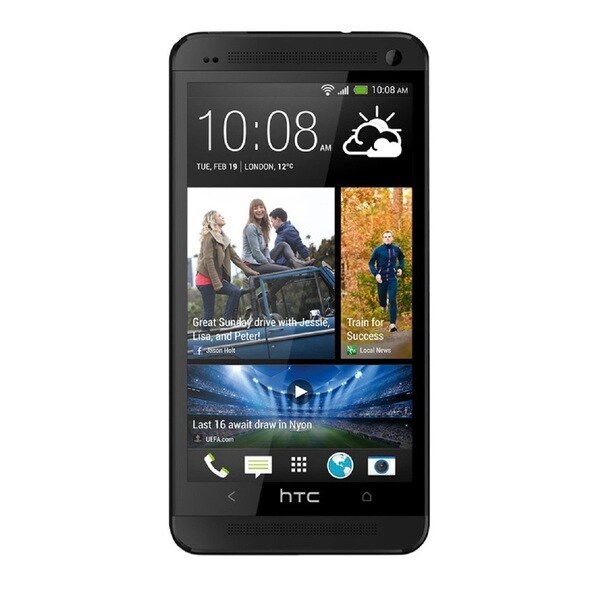 HTC One M7 32GB AT&T Unlocked GSM 4G LTE Android Cell Phone - Black (Refurbished)