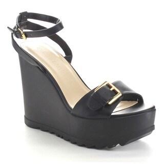 Wild Diva ELLEN-05 Women's Platform Wedge Sandals