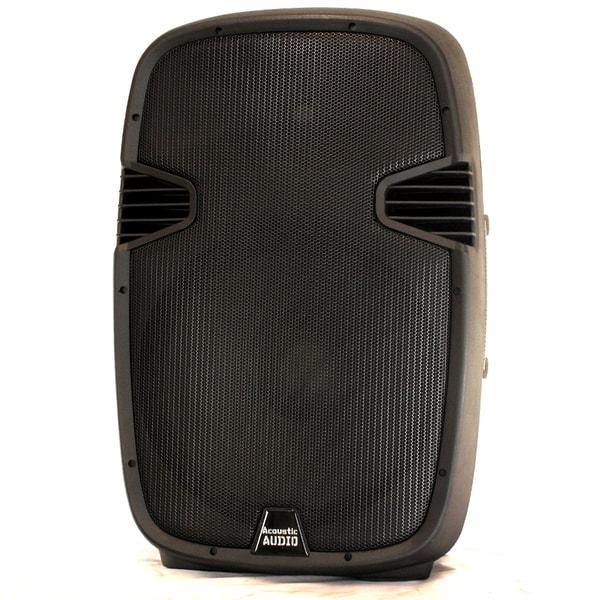 Acoustic Audio Aa152u Powered 900 Watts 15-inch Speaker 2 Way Usb Mp3 Player