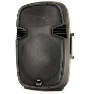 Acoustic Audio Aa152ub Powered 900 Watts 15-inch Bluetooth Speaker 2 Way Usb Mp3 Player