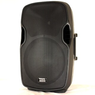 Acoustic Audio Aa15ub Powered 1000 Watts 15-inch Bluetooth Speaker 2 Way Usb Mp3 Player