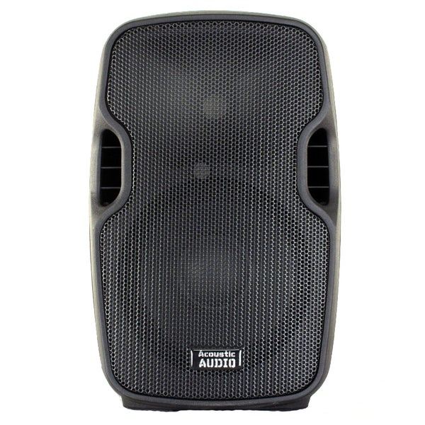 Acoustic Audio Aa8ub Powered 600 Watts 8-inch Bluetooth Speaker 2 Way Usb Mp3 Player