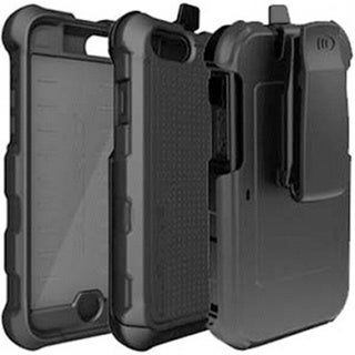 Black Ballistic Tough Jacket Case for iPhone 6 and 6s Plus