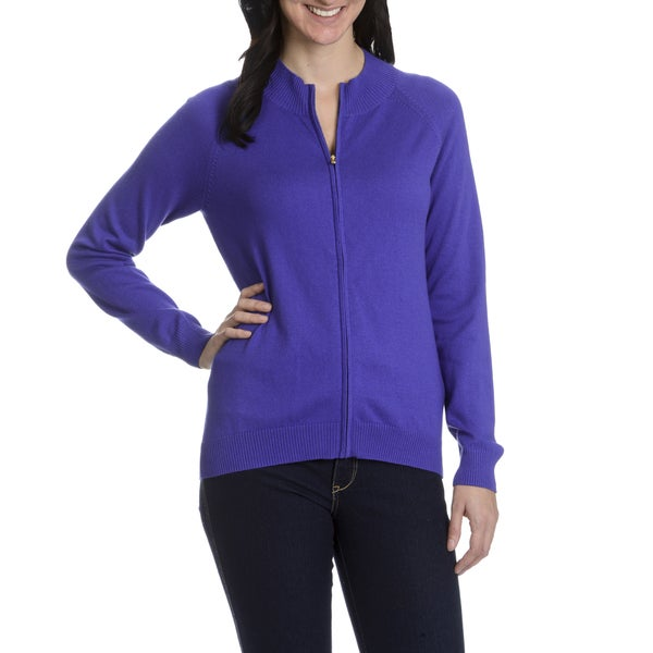 Peter Millar Women's Cashmere Blend Full Zip Front Sweater