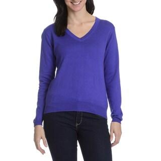 Peter Millar Women's Cashmere Blend V Neck Sweater