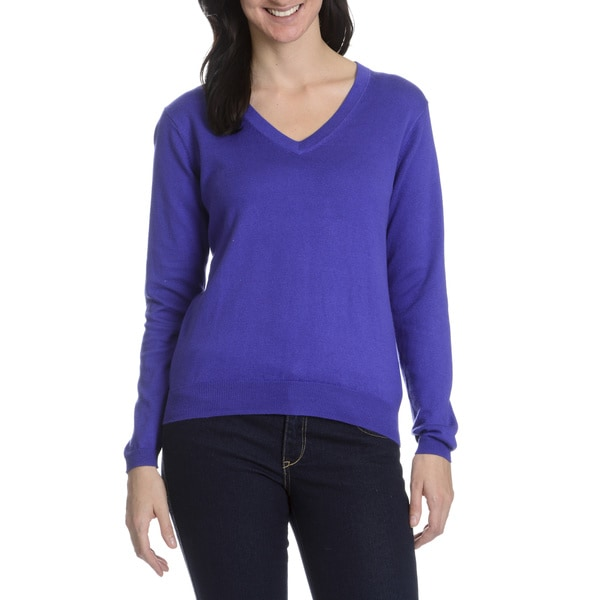 Peter Millar Women's Cashmere Blend V Neck Sweater