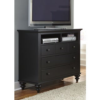 Hamilton III Black Cottage Media Chest