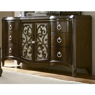 Rue Royale Cathedral Hickory Dresser
