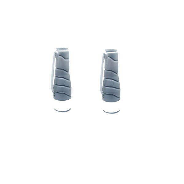 2PK Compatible TN211 Laser Toner Cartridge For QMS BizHub 200 222 250 282 (Pack of 2)