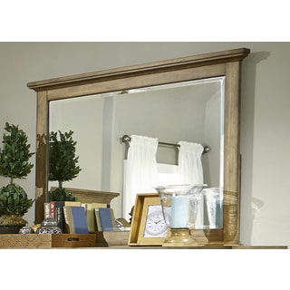 High Country Honey Spice Landscape Mirror