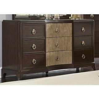 Manahttan Sable and Champagne 9-Drawer Dresser