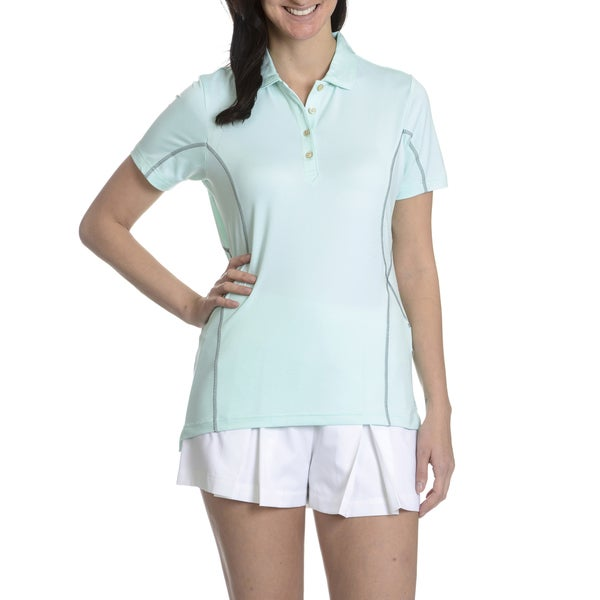 Peter Millar E4 Performance Women's Contrast Stitch Short Sleeve Polo