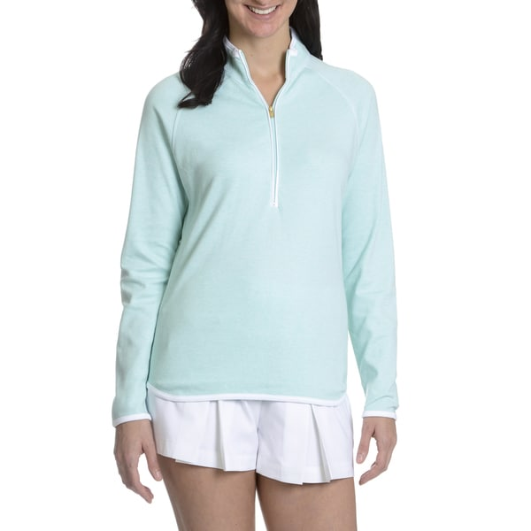 Peter Millar Women's Half Zip Pullover Top