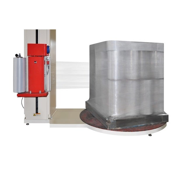 Equivalent Stretch Machine 30-inch 5000 Feet 80 Ga. Wrap Film (5 Rolls)