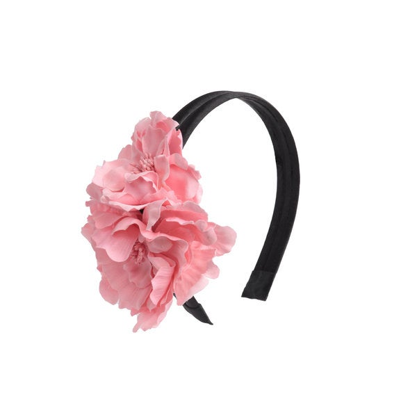 Coral Flowers Headband (Pack of 2)