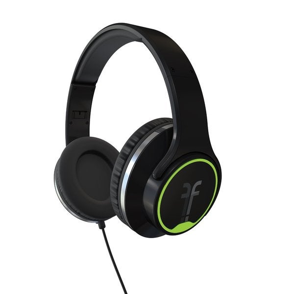 Flips Audio Black Collapsible HD Headphones and Stereo Speakers
