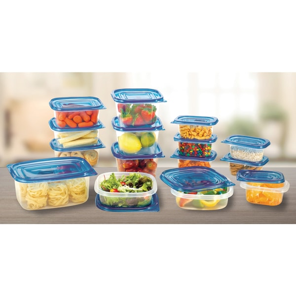 Diamond Home 30 Piece Food-Storage Container with Lids Set