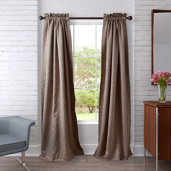 Heritage Landing Ogee Curtain Panel Set