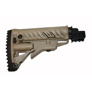 FAB Defense Tan Collapsible Buttstock for Polymer Tube