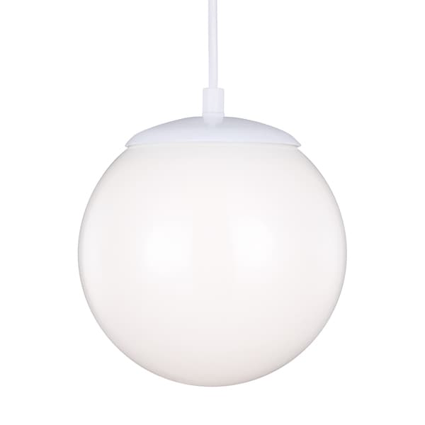 Sea Gull Hanging Globe LED White Pendant